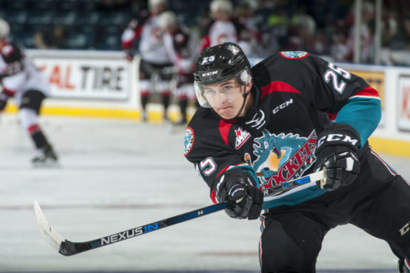 Cal Foote, Kelowna Rockets, WHL, NHL farm systems