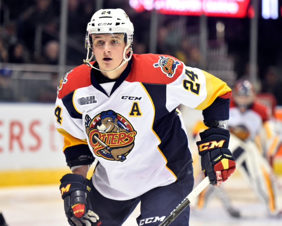 Darren Raddysh, OHL, Erie Otters