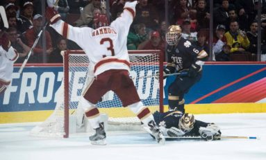 NCAA's Frozen Four Eliciting Top Defense