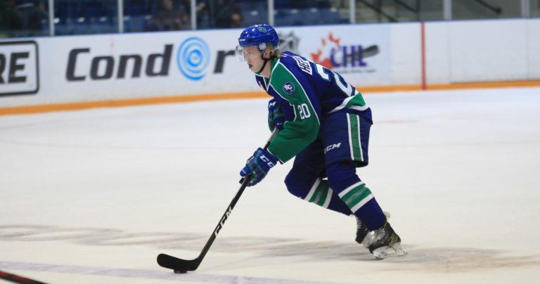 Aleksi Heponiemi of the Swift Current Broncos