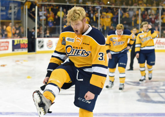 OHL, Erie Otters, Warren Foegele, Carolina Hurricanes