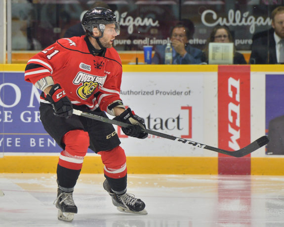 Jonah Gadjovich, OHL, Owen Sound Attack
