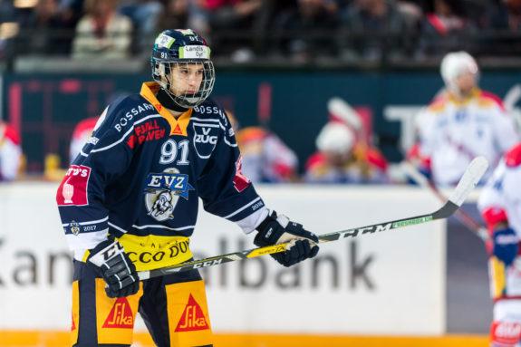 Tobias Geisser of EV Zug