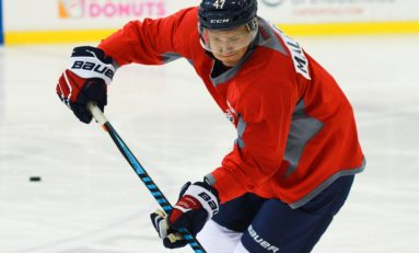 Capitals Prospect Malenstyn Is Working for His Dream