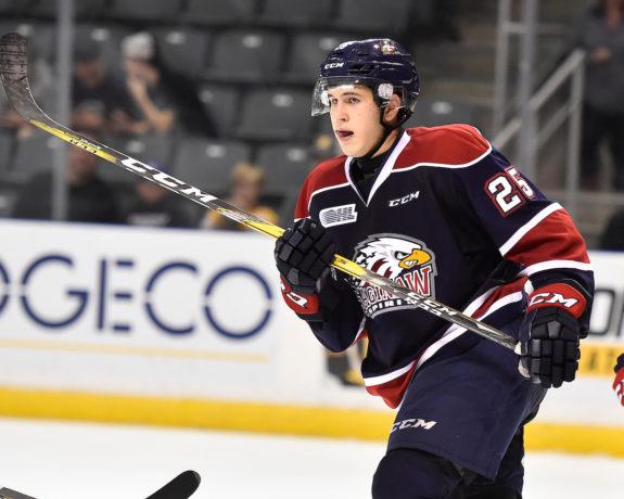 Kirill Maksimov, Saginaw Spirit, Niagara Icedogs, OHL