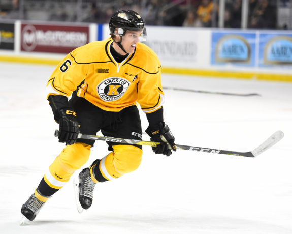 Jacob Paquette, OHL, Kingston Frontenacs