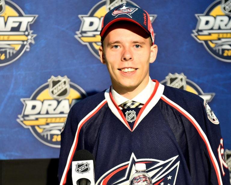 Vitaly Abramov, NHL, Columbus Blue Jackets, QMJHL, Gatineau Olympiques