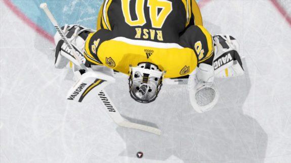 Tuukka Rask s mask in NHL 18. (EA Sports   NHL 18) 48d0b48490be