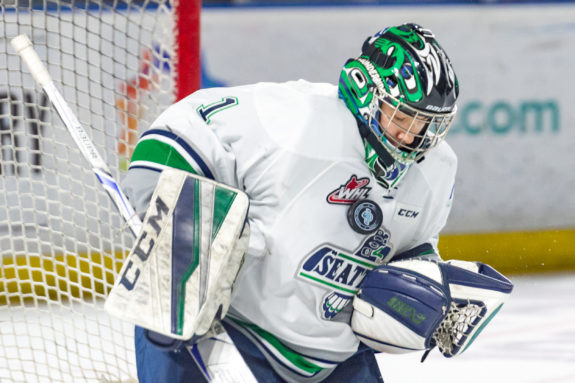 Carl Stankowski of the Seattle Thunderbirds