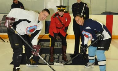 Playing for Honour: The Charity Hockey Game