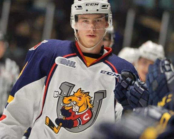 Barrie Colts forward Andrei Svechnikov