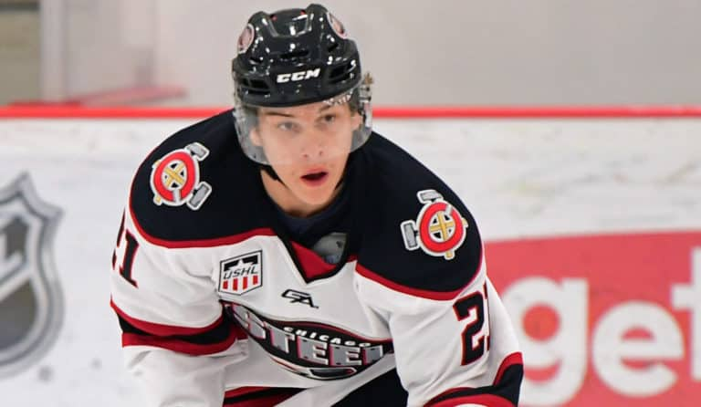 Blake McLaughlin of the Chicago Steel