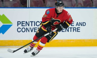 Flames' Gawdin, Mackey, Phillips Among Prospects Vying For NHL Time
