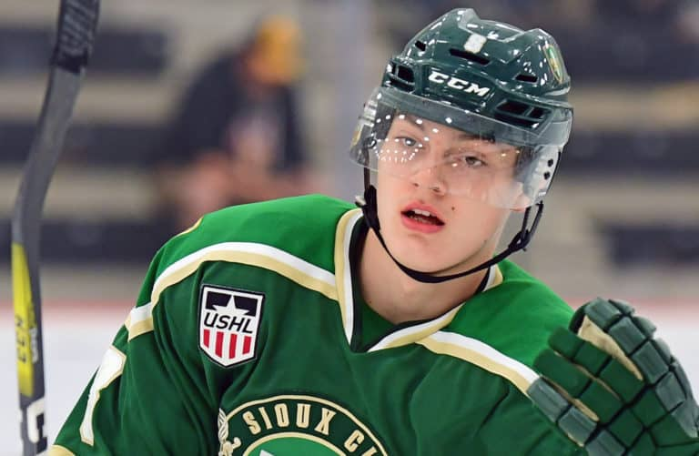 Sampo Ranta of the Sioux City Musketeers