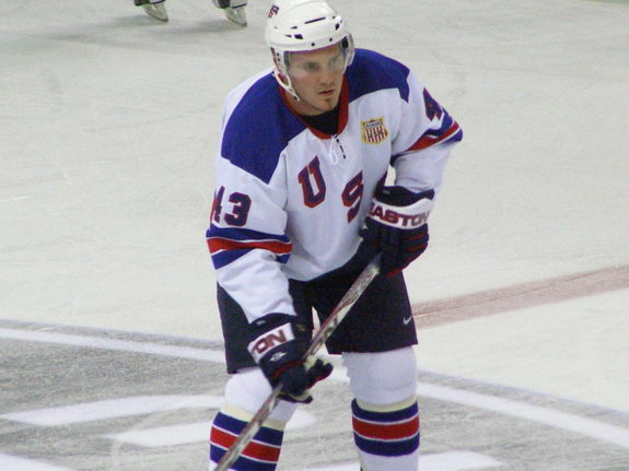 James Wisniewski Team USA