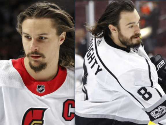 Erik Karlsson Ottawa Senators Drew Doughty Los Angeles Kings