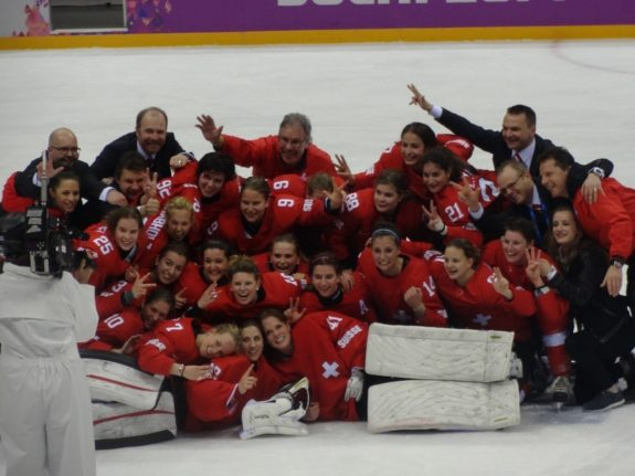 Switzerland Women's Team Sochi 2014