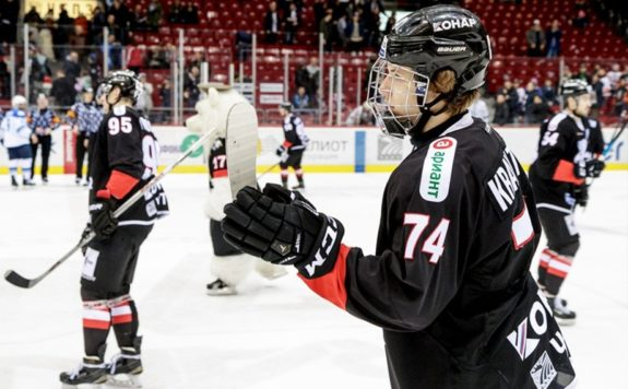 Vitali Kravtsov, KHL