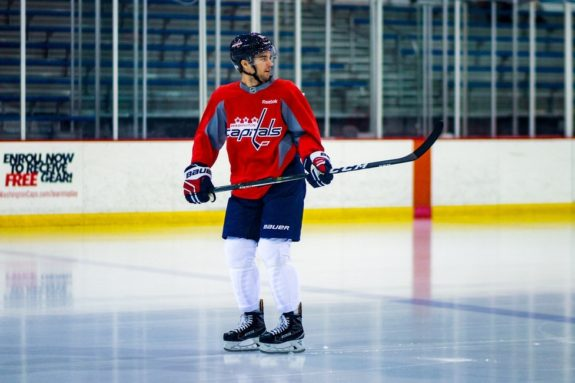 Capitals Shane Gersich