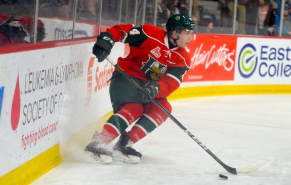 Jared McIsaac of the Halifax Mooseheads