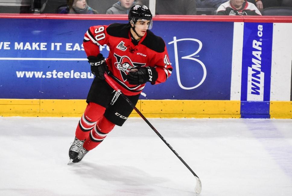 6dd2b30a8 Joseph Veleno – 2018 NHL Draft Prospect Profile