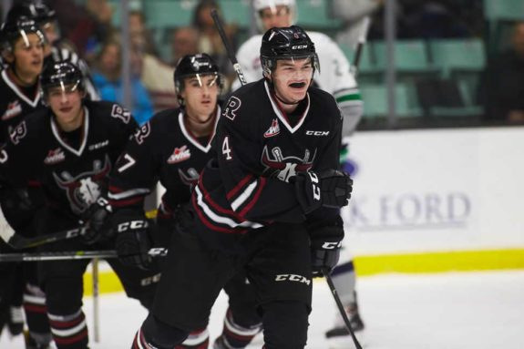 Alexander Alexeyev of the Red Deer Rebels