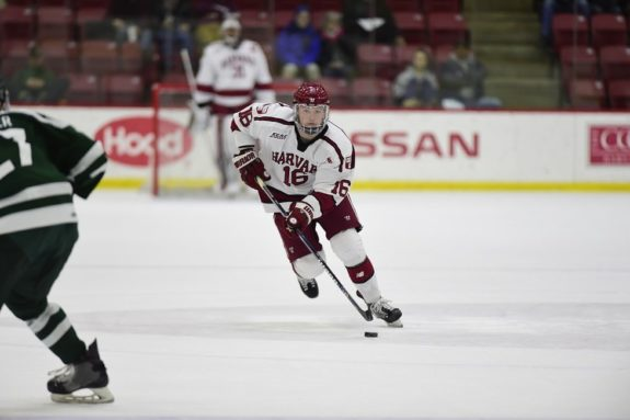 Ryan Donato Harvard Crimson