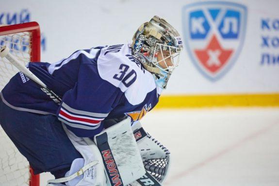 Ilya Samsonov of the Washington Capitals