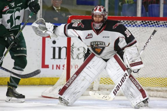 David Tendeck of the Vancouver Giants