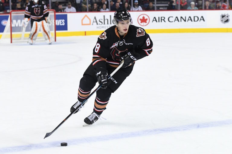 Vladislav Yeryomenko of the Calgary Hitmen