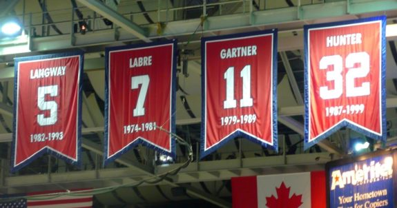Washington Capitals retired numbers