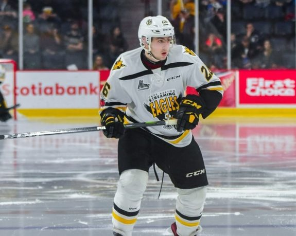 Egor Sokolov Cape Breton Screaming Eagles