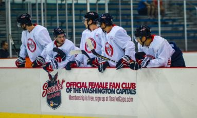 Capitals' Prospects Break Ice With Meals, Movies & Monuments