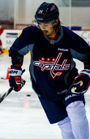 Capitals' Siegenthaler Continues North American Journey