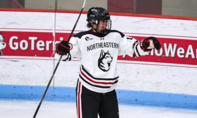 Switzerland's Müller Ready to Light up Hockey East for Northeastern
