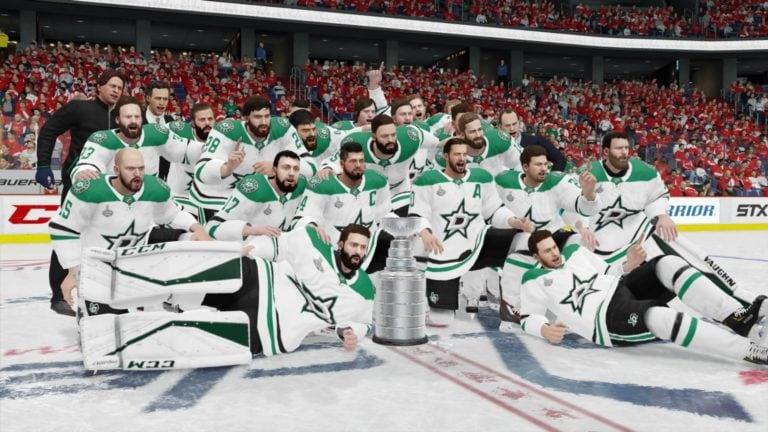 Dallas Stars EA Sports NHL 19