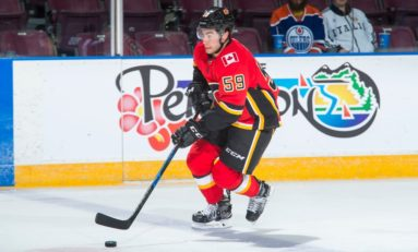 Flames Trio of Prospects Enjoy Lengthy Audition