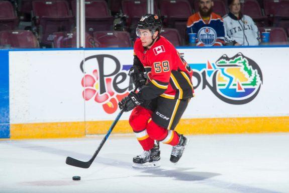 Dillon Dube Calgary Flames
