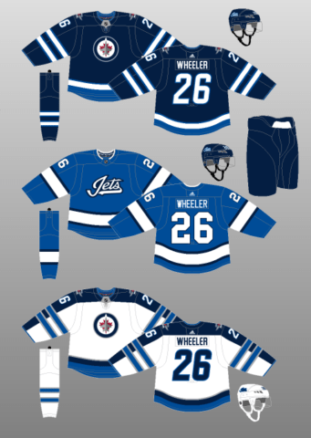 Winnipeg Jets 2018-present Jerseys
