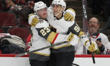 Golden Knights Pound the Blackhawks 8-3