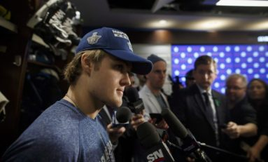 Babcock on Nylander 'We think he's going to be a career Leaf'