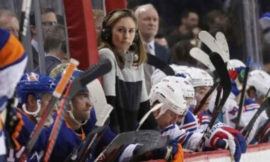 AJ Mleczko Talks Women's and Isles Hockey With THW