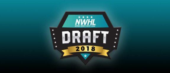 NWHL 2018 Draft logo