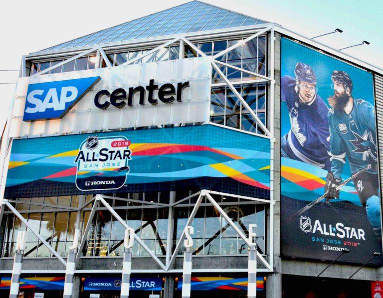 2019 All-Star Venue SAP Center