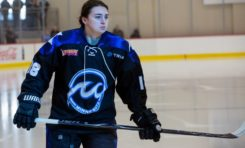 Whitecaps' Amy Schlagel Is Dialed in for NWHL Playoffs