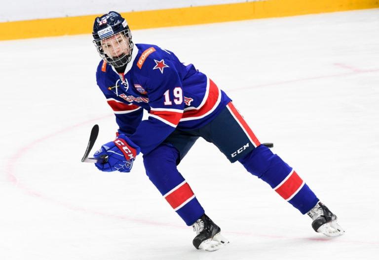 Vasily Podkolzin of SKA St. Petersburg