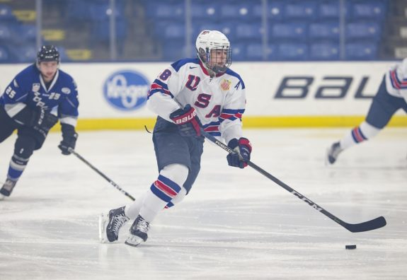 Alex Turcotte of the U.S. National Development Program