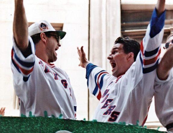 Esa Tikkanen New York Rangers