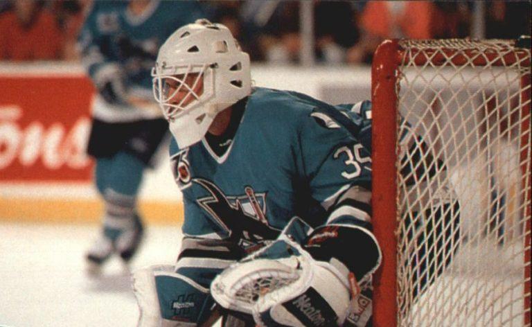 Jarmo Myllys San Jose Sharks