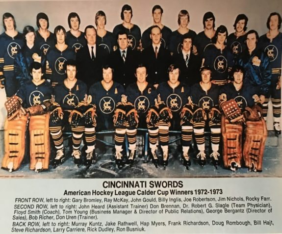 1972-73 Cincinnati Swords